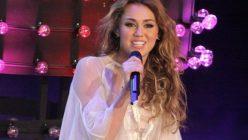 """Miley Cyrus bei """"Wetten Dass"""""""