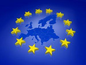 3D EU Karte
