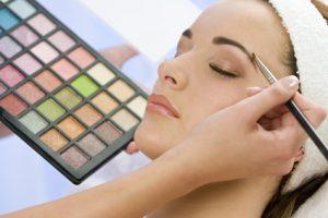 ein schönes Makeup