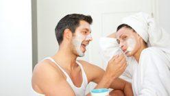 Moderne Pflege für Männer