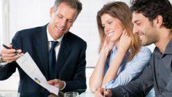 Unternehmensführer werden beraten