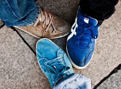 3 unterschiedliche Sneaker