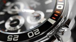 Luxus Uhr im Detail