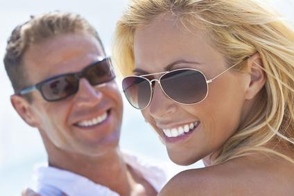 Artikelgebend sind die Sonnenbrillentrends 2014.
