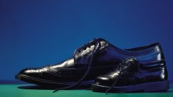 Artikelgebend sind Schuhe in Spezialgrößen.