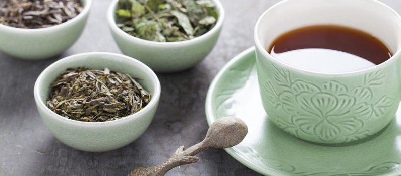 Verschiedene Sorten Grüner Tee