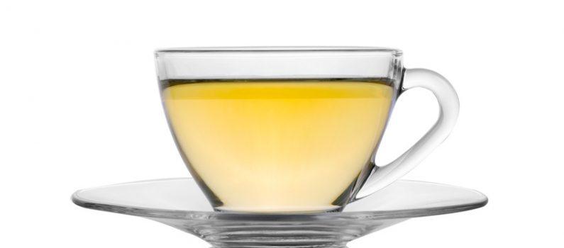 Gesundes Abnehmen mit weißem Tee