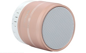 Tragbarer Bluetooth-Lautsprecher in Roségold_2